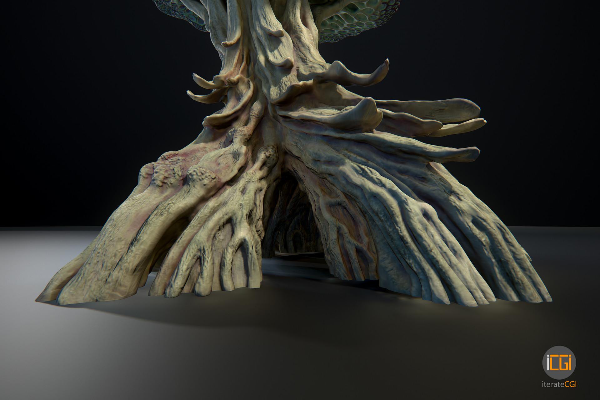 Johan de leenheer alien plant mushroom type2 15