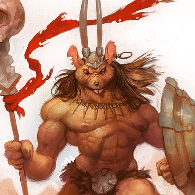 Ivan nikulin barbarian mouse