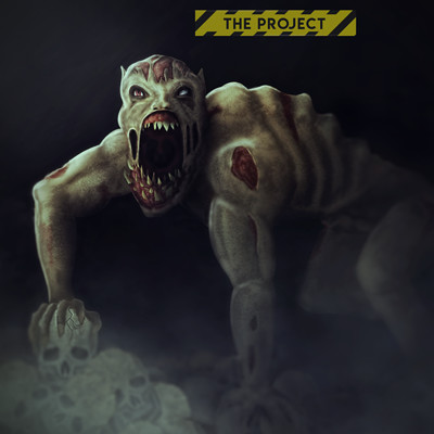 Lewis banks monster concept art