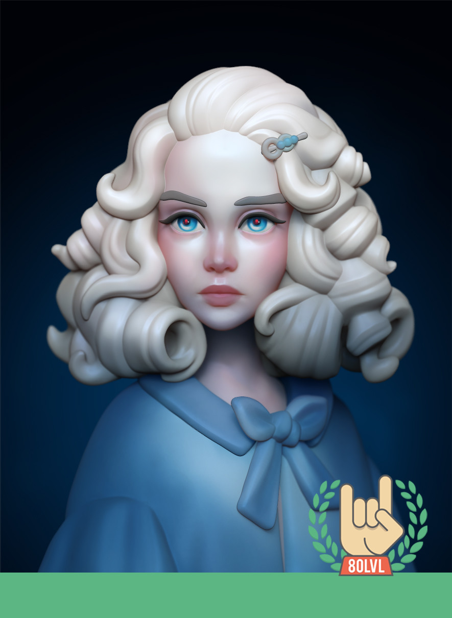 https://80.lv/articles/sculpting-a-stylized-girl-in-zbrush/