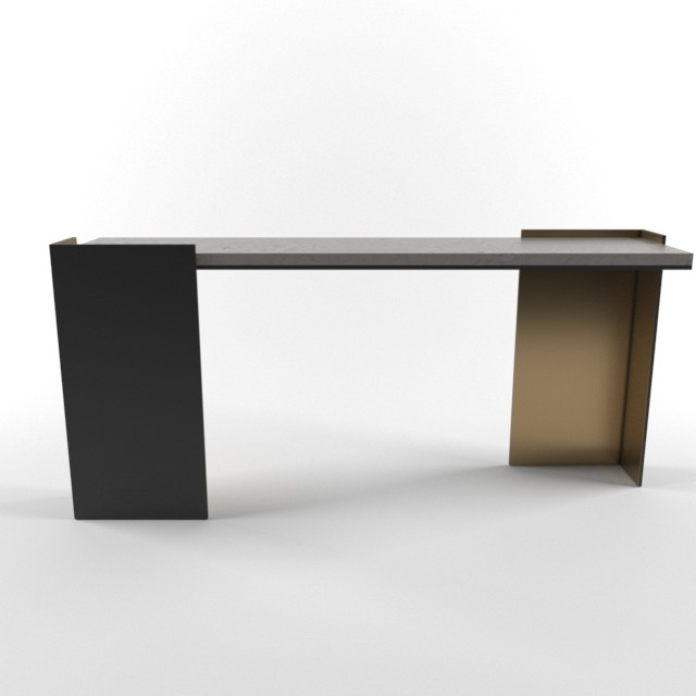 Marvin supan kara mann wrap console table