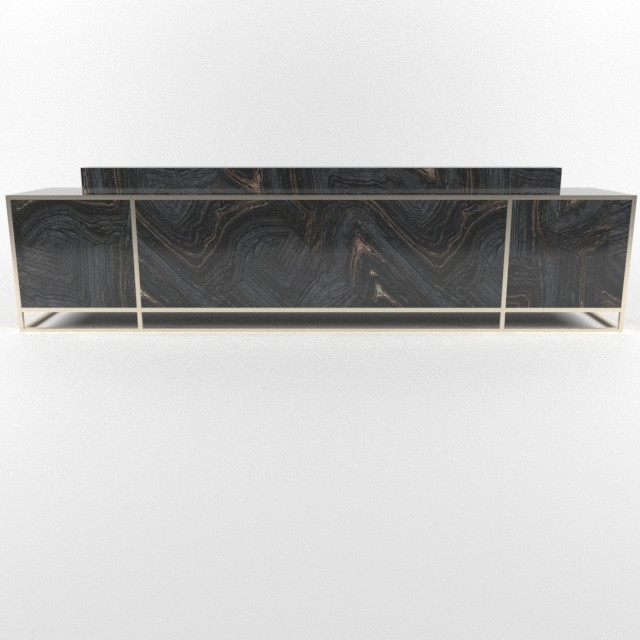 Marvin supan reception desk lobby custom