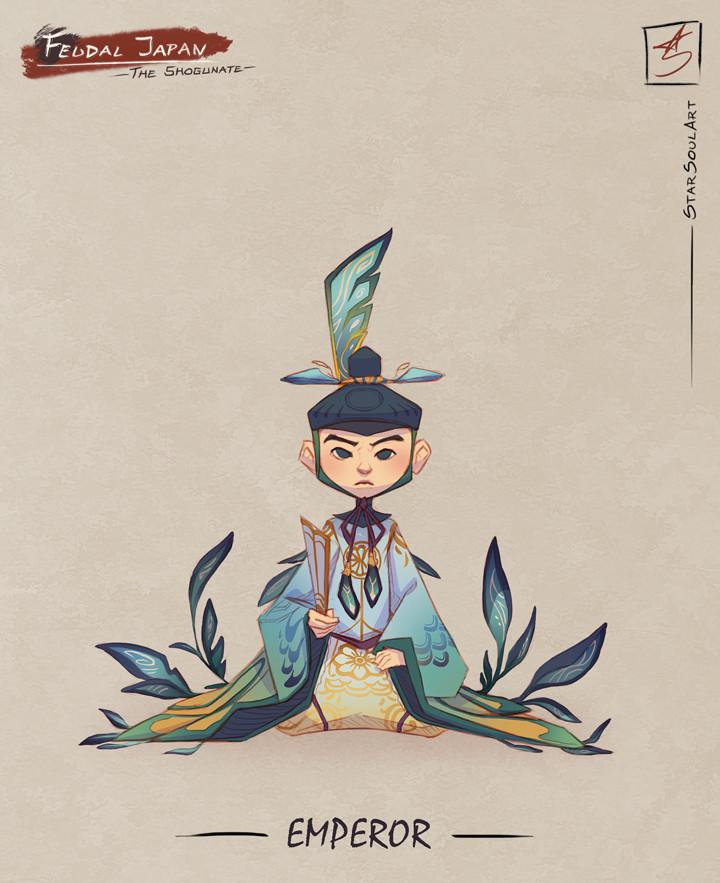 EMPEROR: The Shogun's unfortunate puppet.