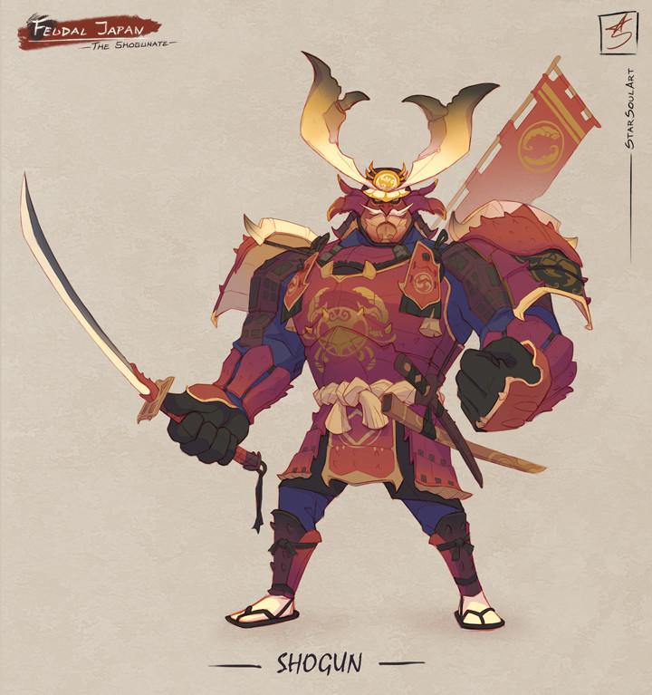 SHOGUN: The crave-for-war leader.
