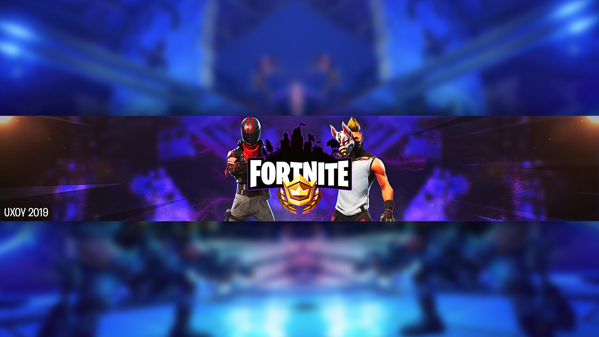 Fortnite Youtube Background Banner