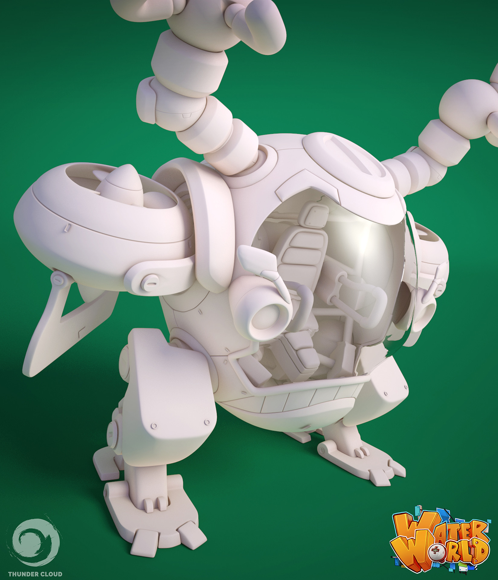 Thunder cloud barmmech hipoly supportimage closeup3 min