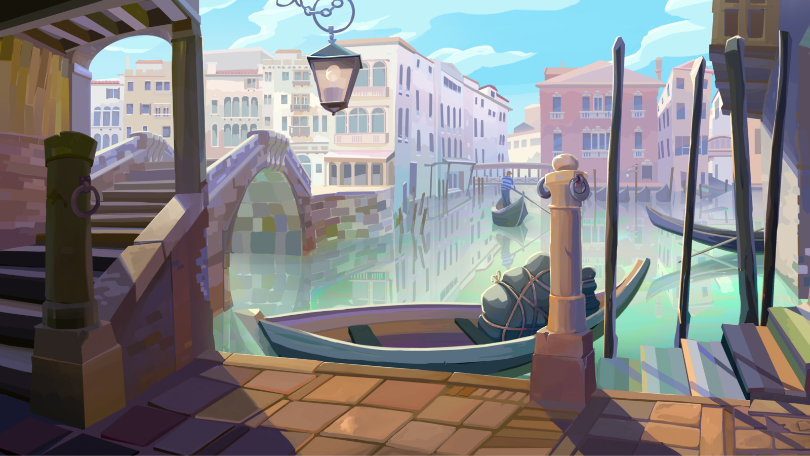 Venice Background