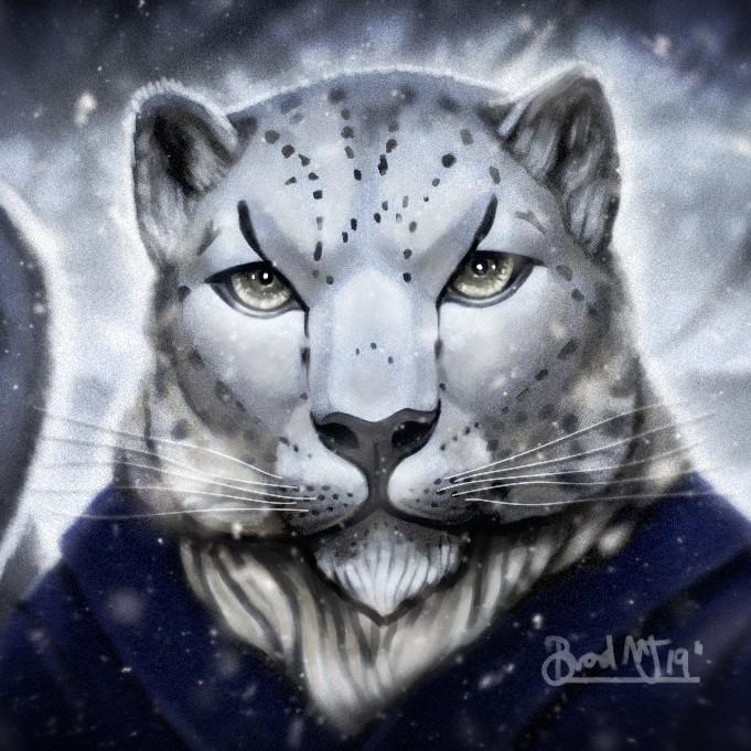 Snow Leopard Wudan Monk