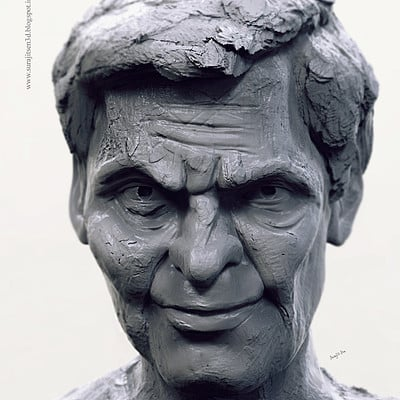 Surajit sen the man rough sculpt surajitsen jan2019