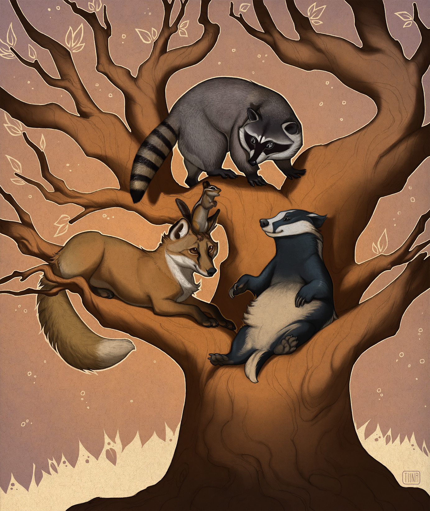 Finished Illustration painted digitally