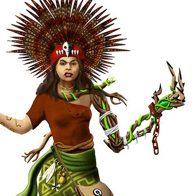 John steventon shaman priestess