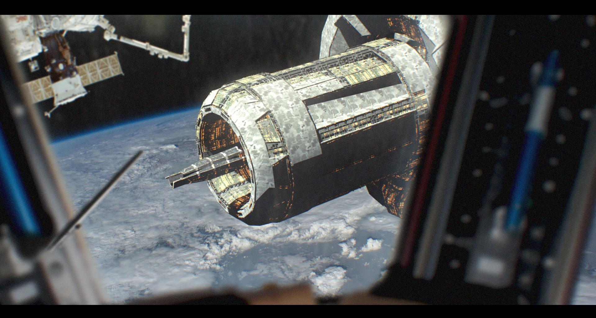 Oskar mnich space station v002