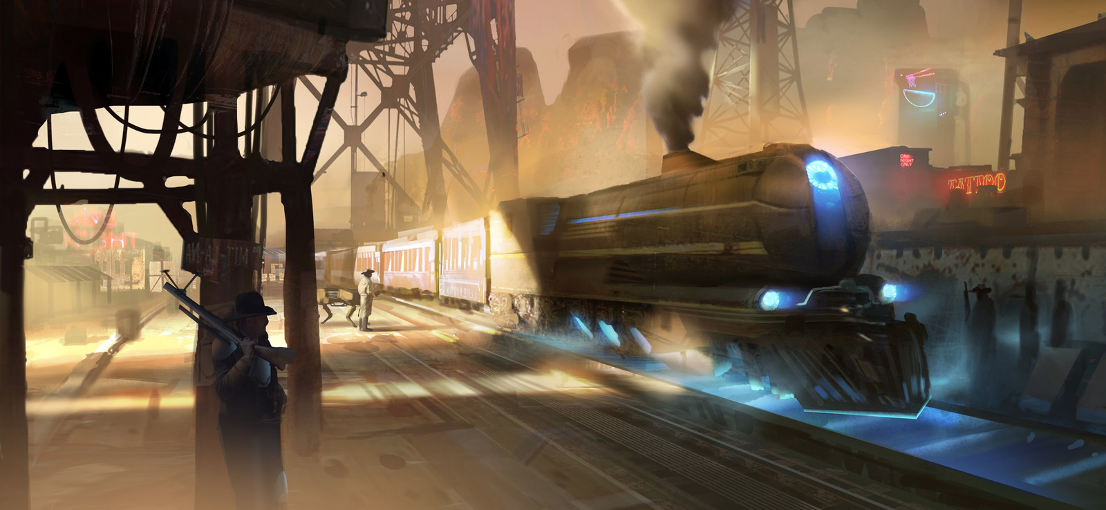 Western Diesel-Punk III (Cancelled Game)
