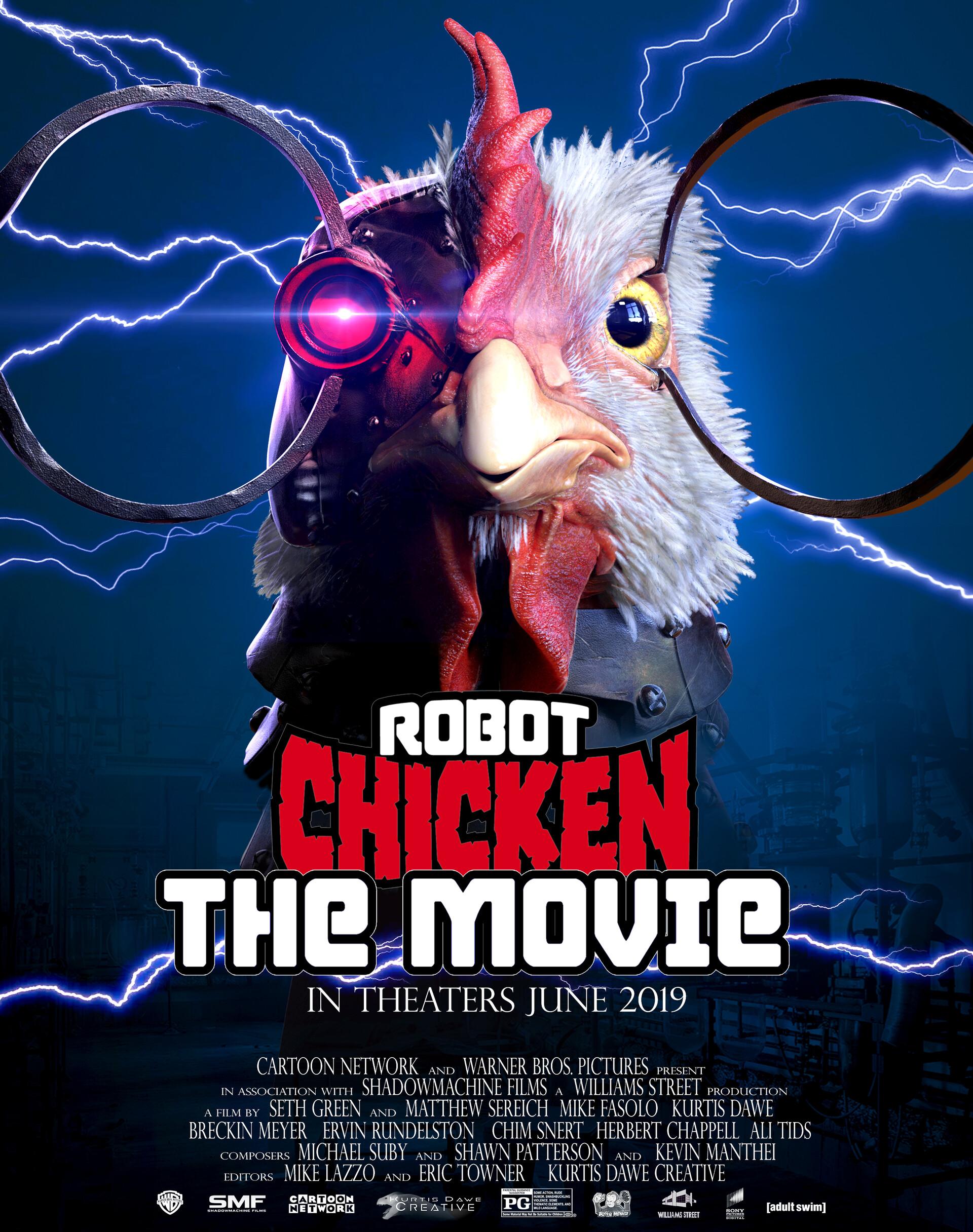 Kurtis Dawe - Robot Chicken Movie Character Model