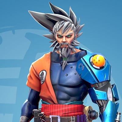 Aaron walker old goku render
