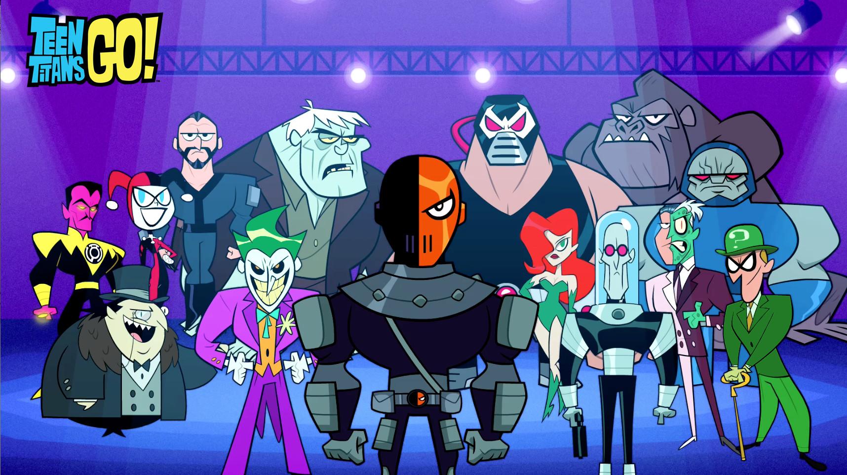 Artstation - Dc Villains Screenshot - Teen Titans Go -5664