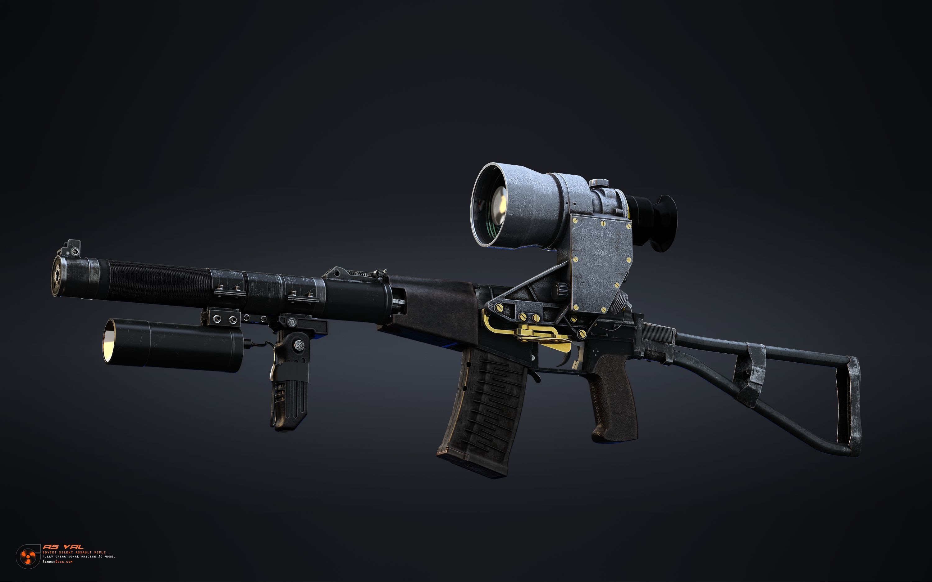Due to it's low level fire sound this assault rifle became incredibly dangerous at night operations