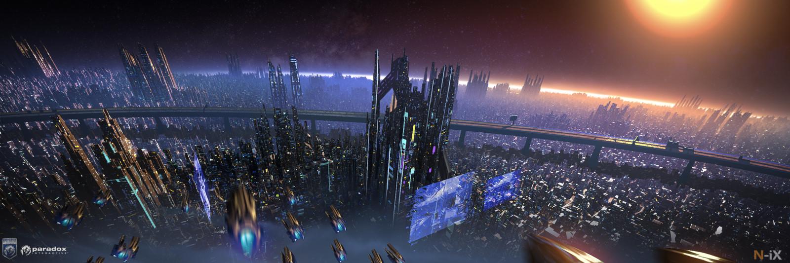 City-planet