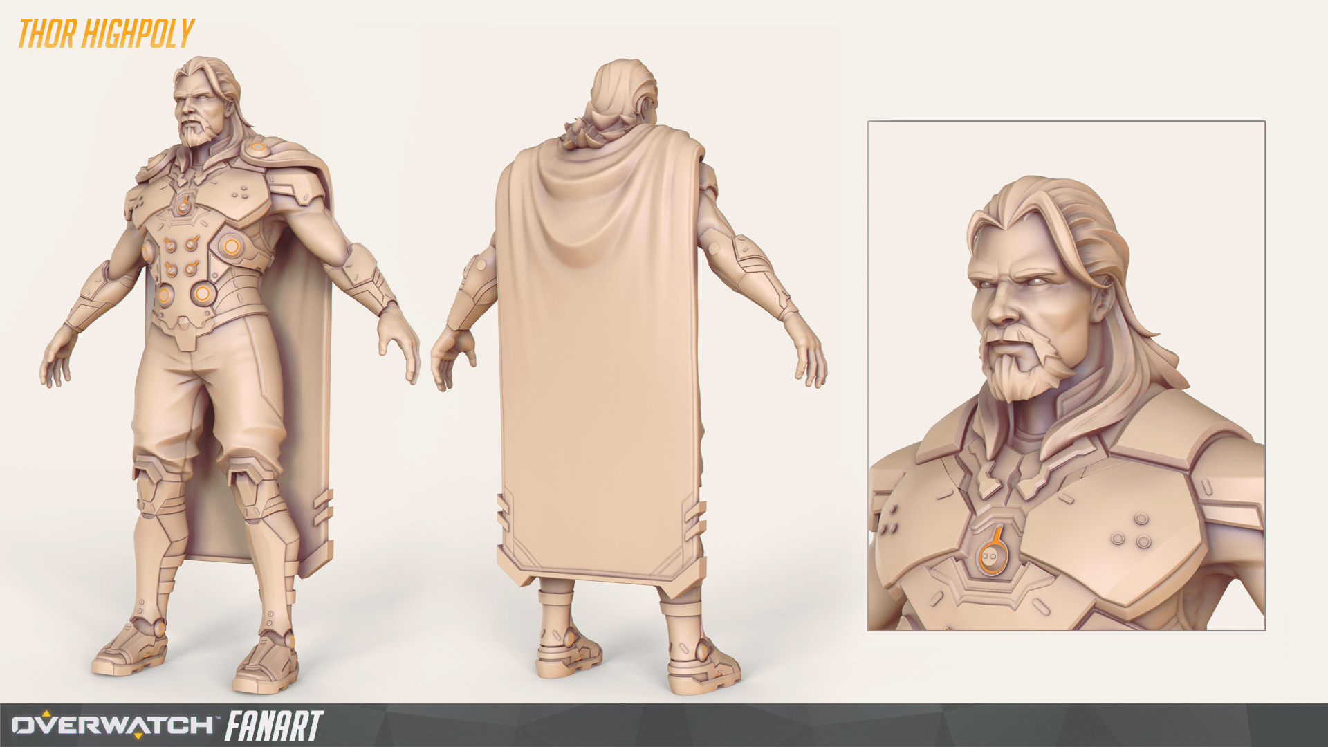 Travis ngov thor highpoly cape