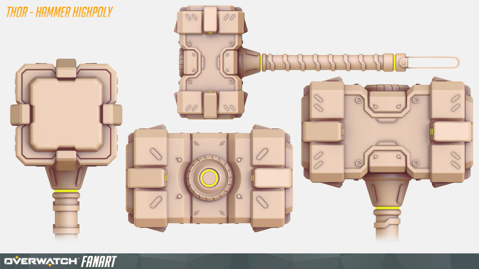 Thor - HighPoly Weapon 01