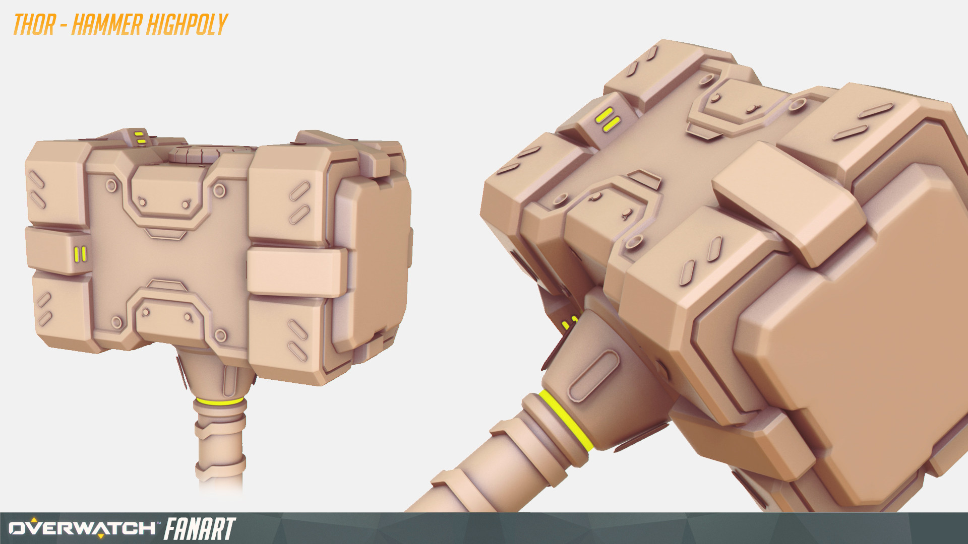 Thor - HighPoly Weapon 02