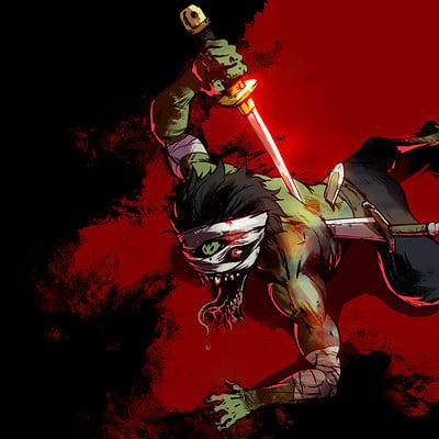 A shipwright zombie swordman