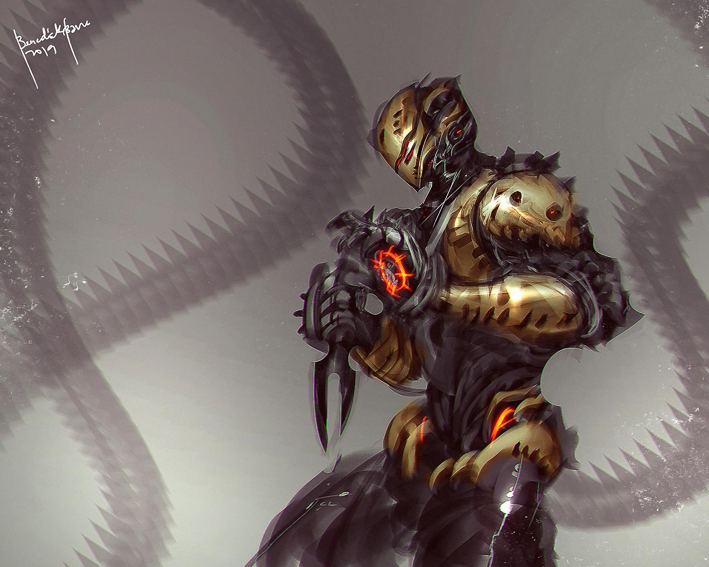 Scorpion fanart Cyber Evolution