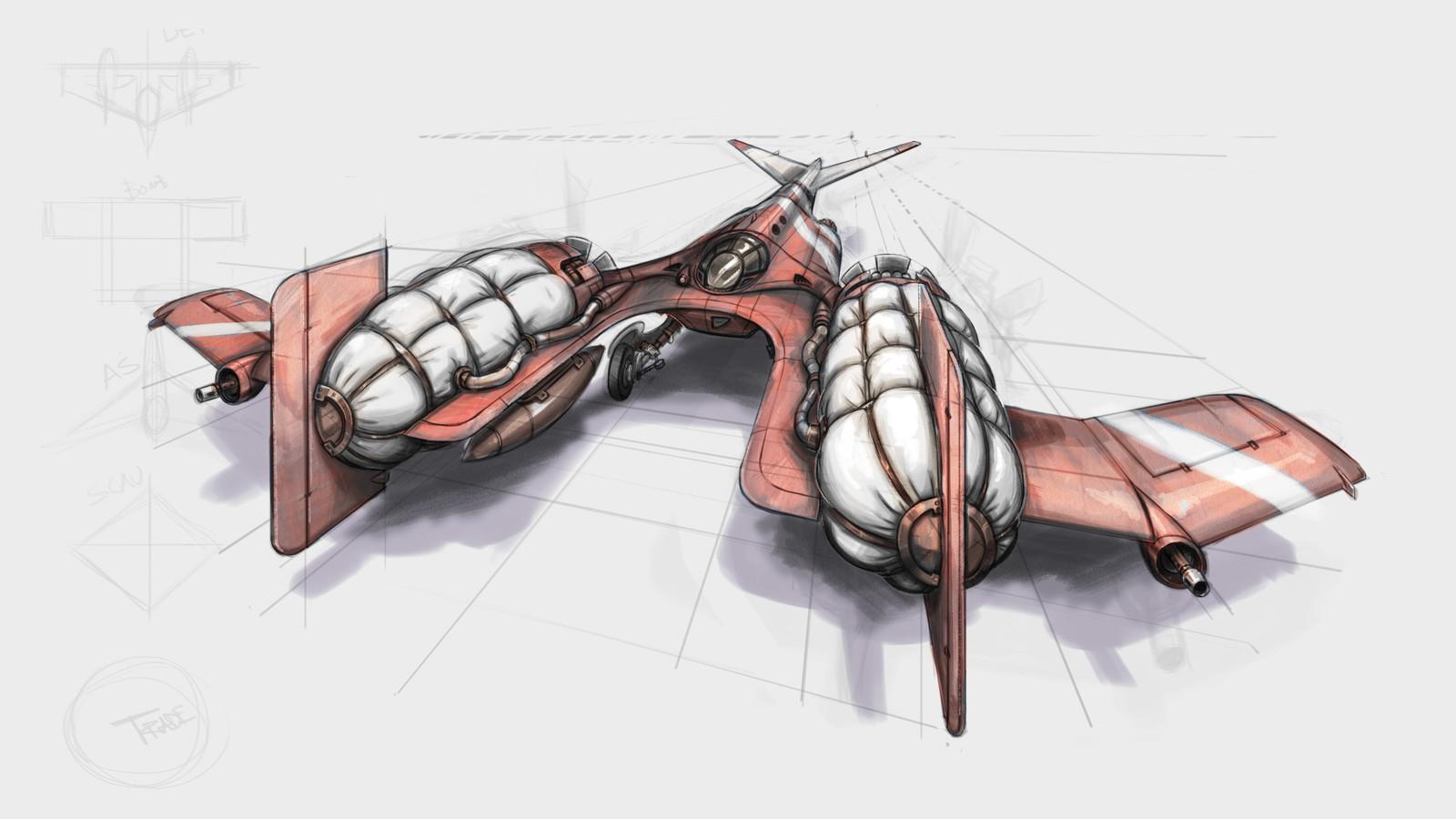 R&D Plane Concept