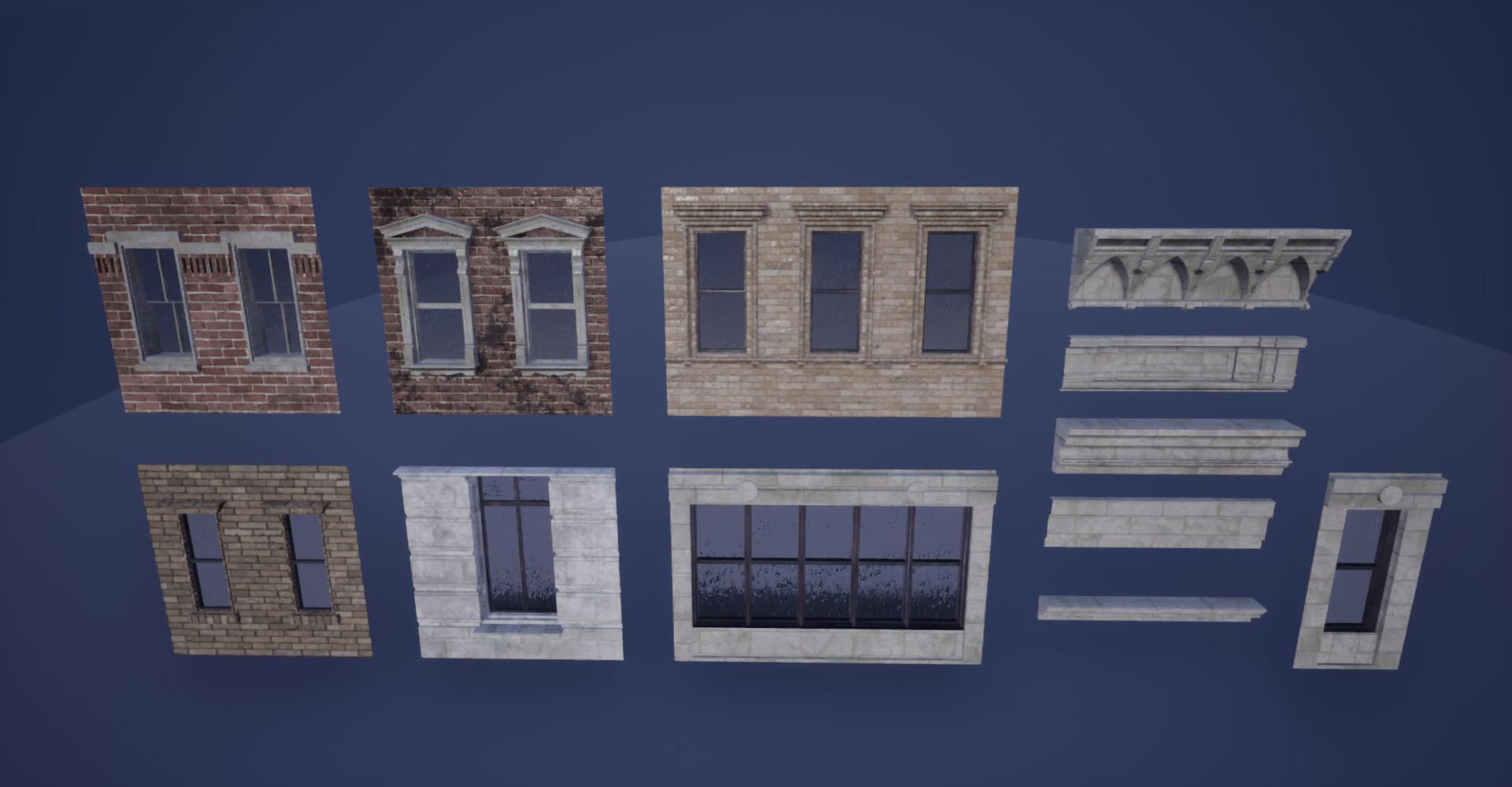 Base Building Modules