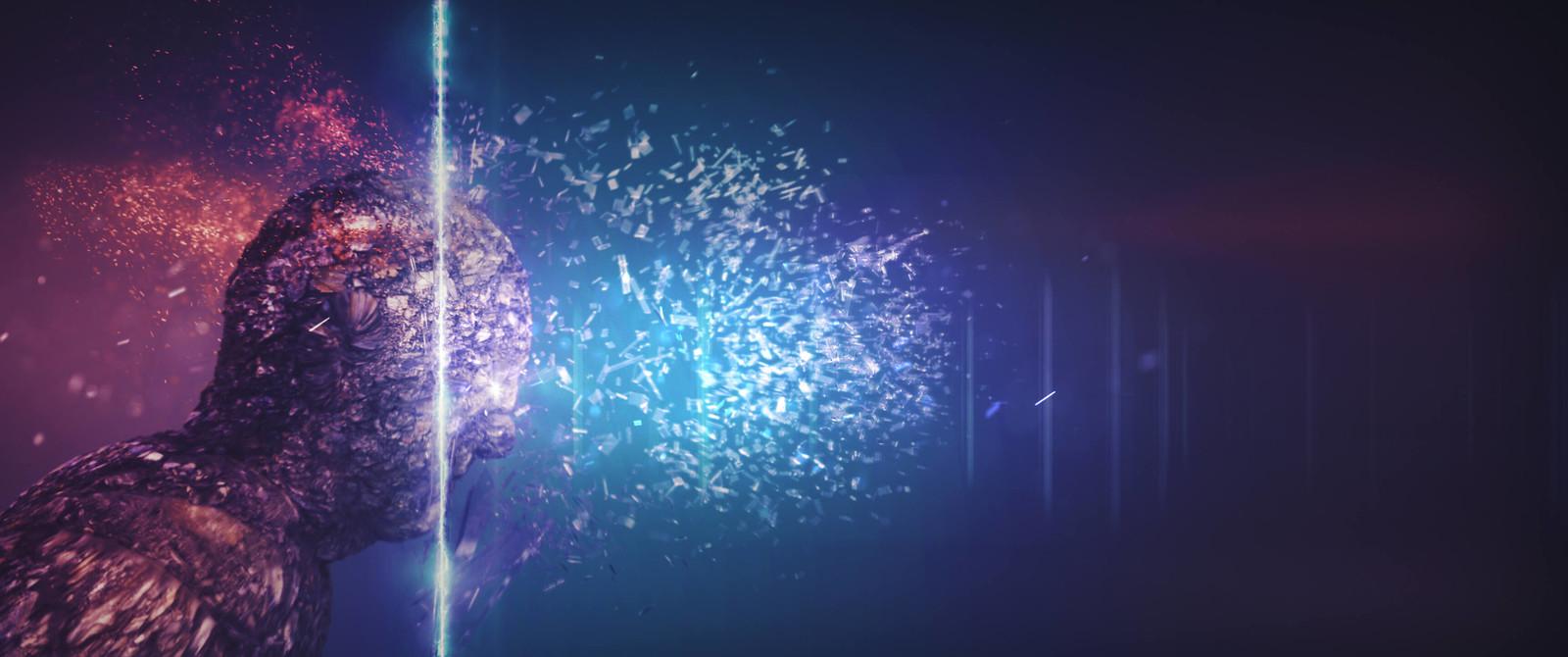 Rockhead breaks the dimension