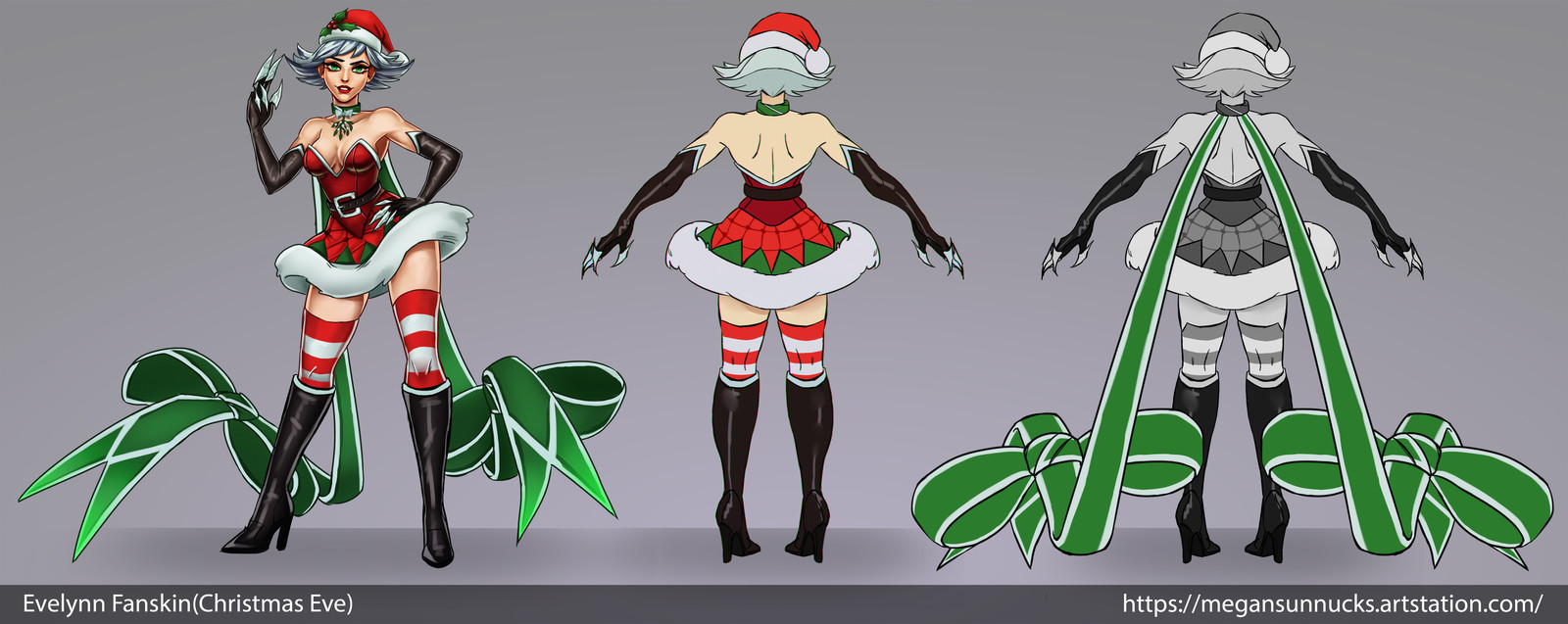 Christmas Eve(Evelynn Fanskin) - Concept sheet