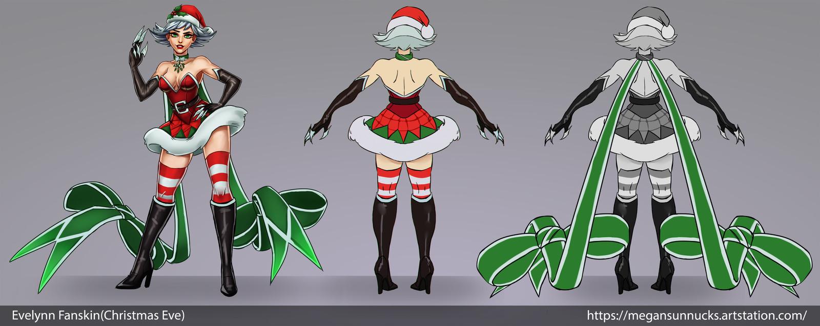 Christmas Eve(Evelynn Fanskin) - Concept sheet