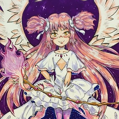 Goddess Madoka Magica: Fanart