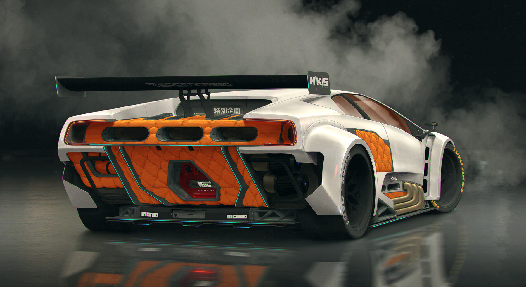 Artstation Lamborghini Diablo 138 Ppr Filippo Ubertino