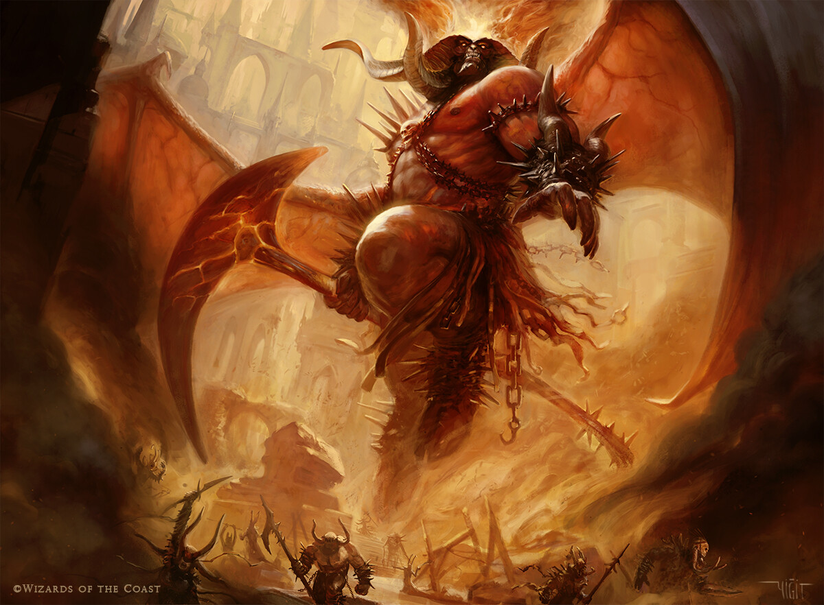 Rakdos , Lord of Riots