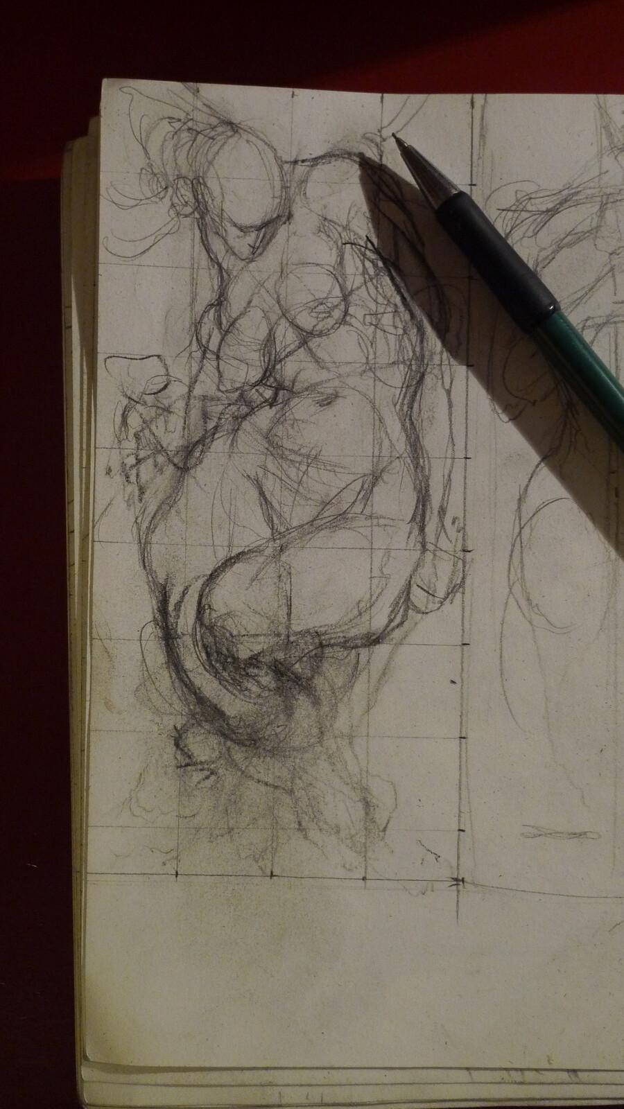 First little sketch