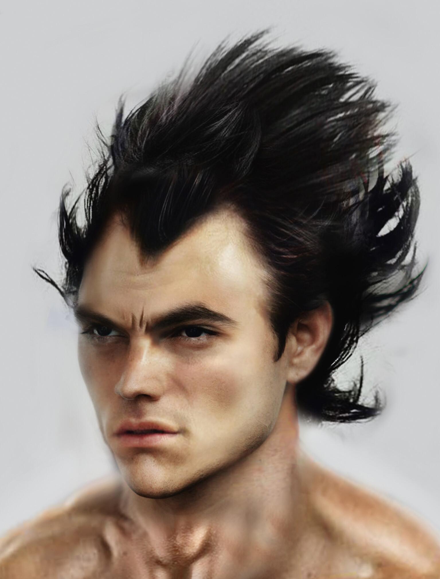 Goku Hairstyle Real Life