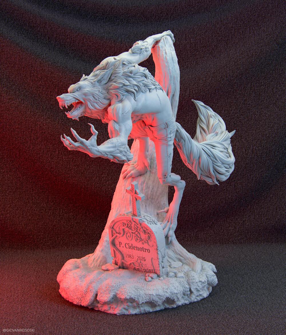 Giovani kososki werewolf giovanikososki 06