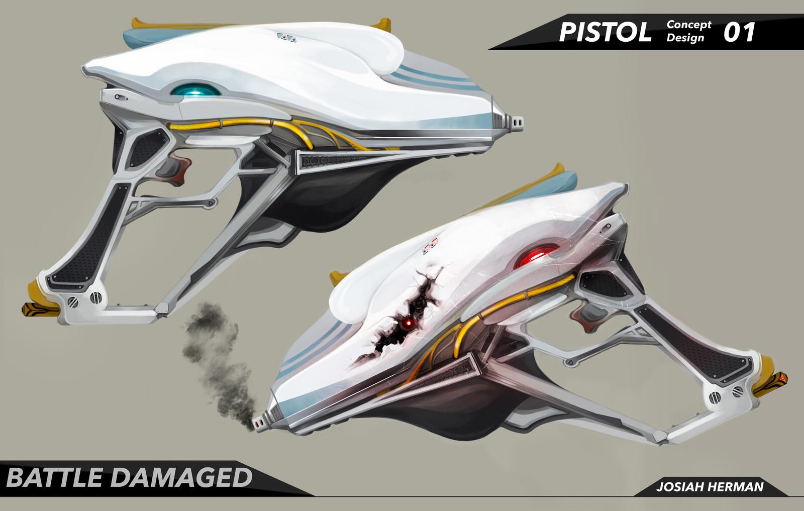 Pistol - Concept Design
