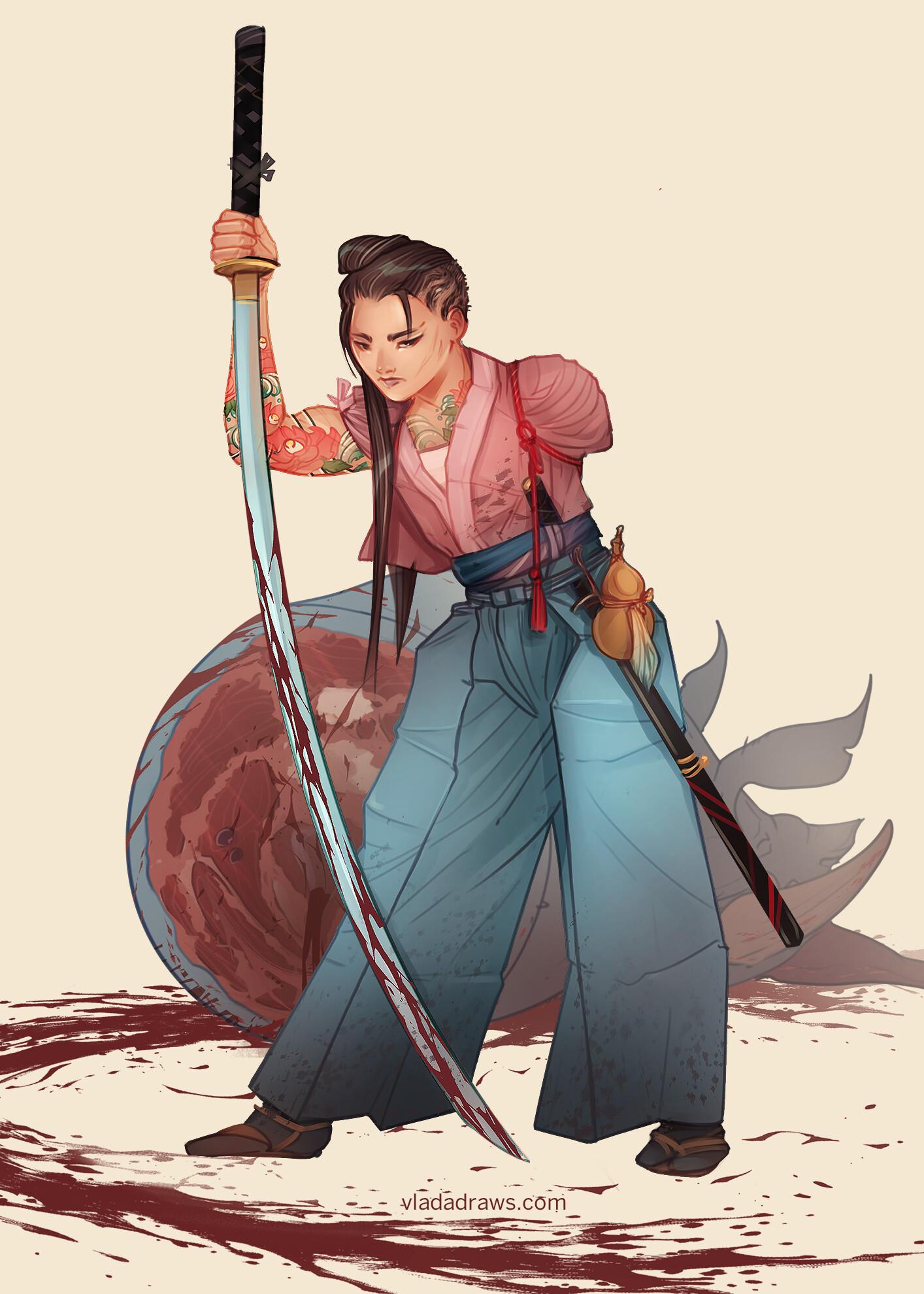 Vlada monakhova samurai final