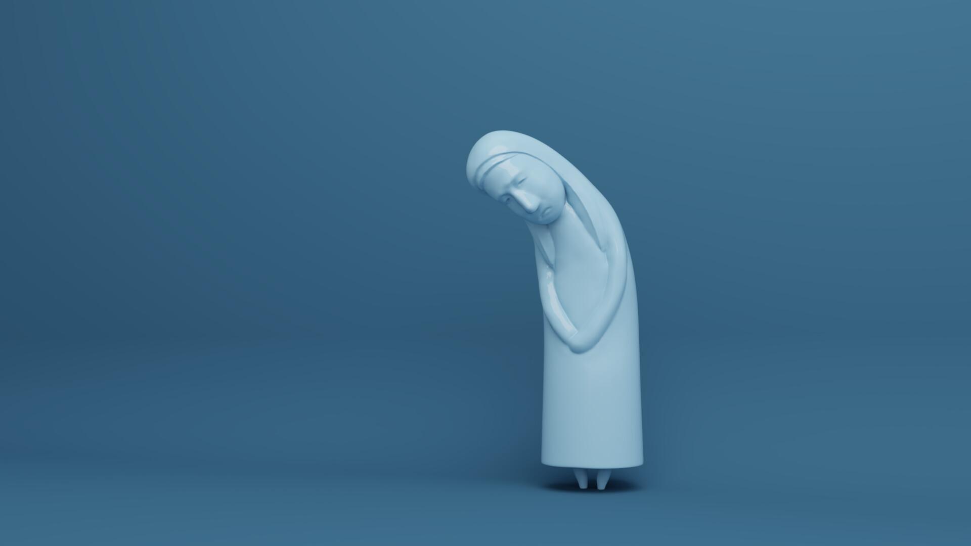 Michael wu 16 melancholy rendering