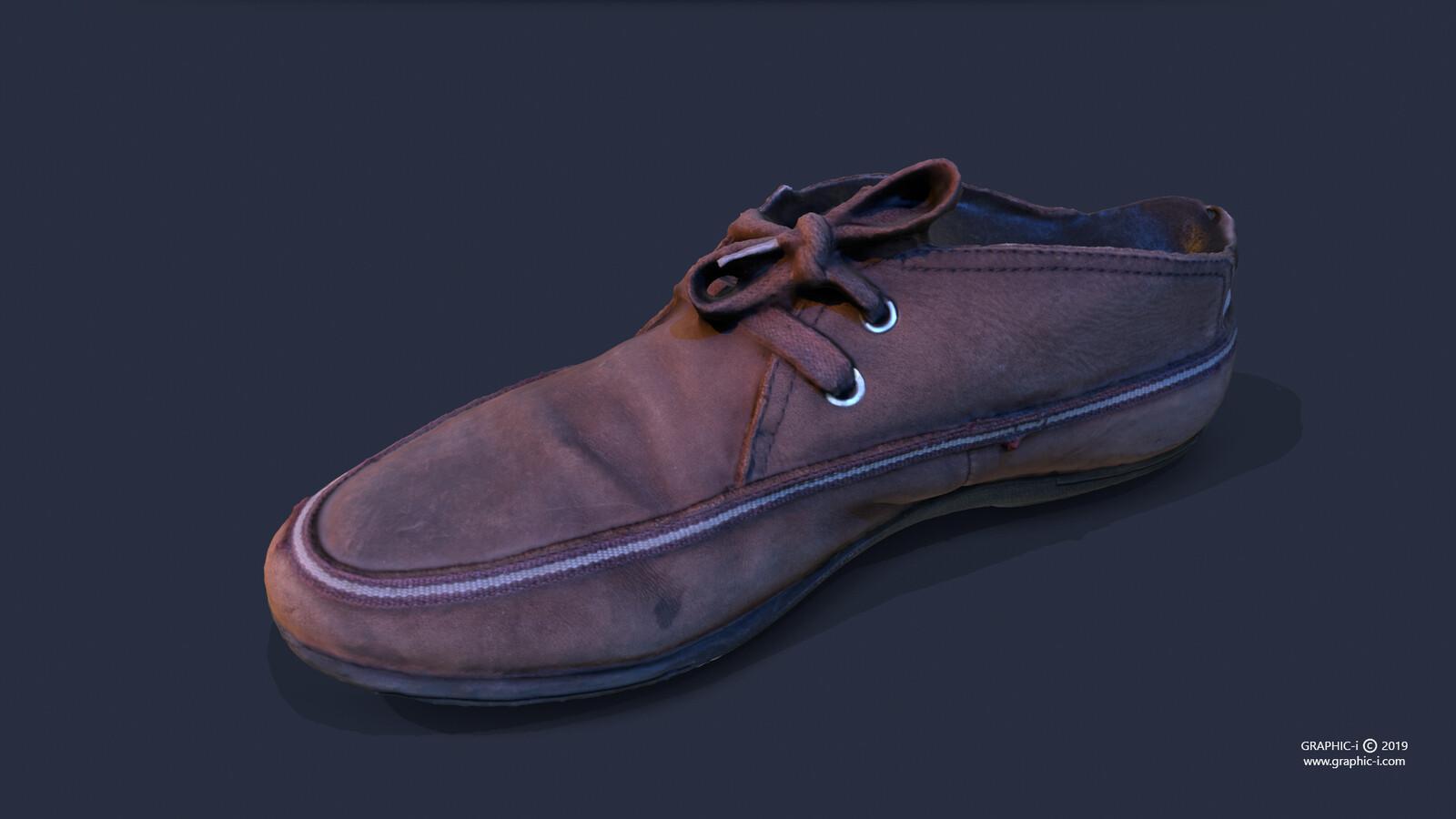 Realistic Shoe - 3D props