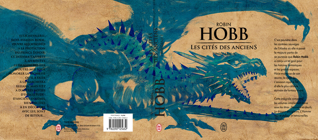 Robin Hobb cover T2 Editions JAI LU