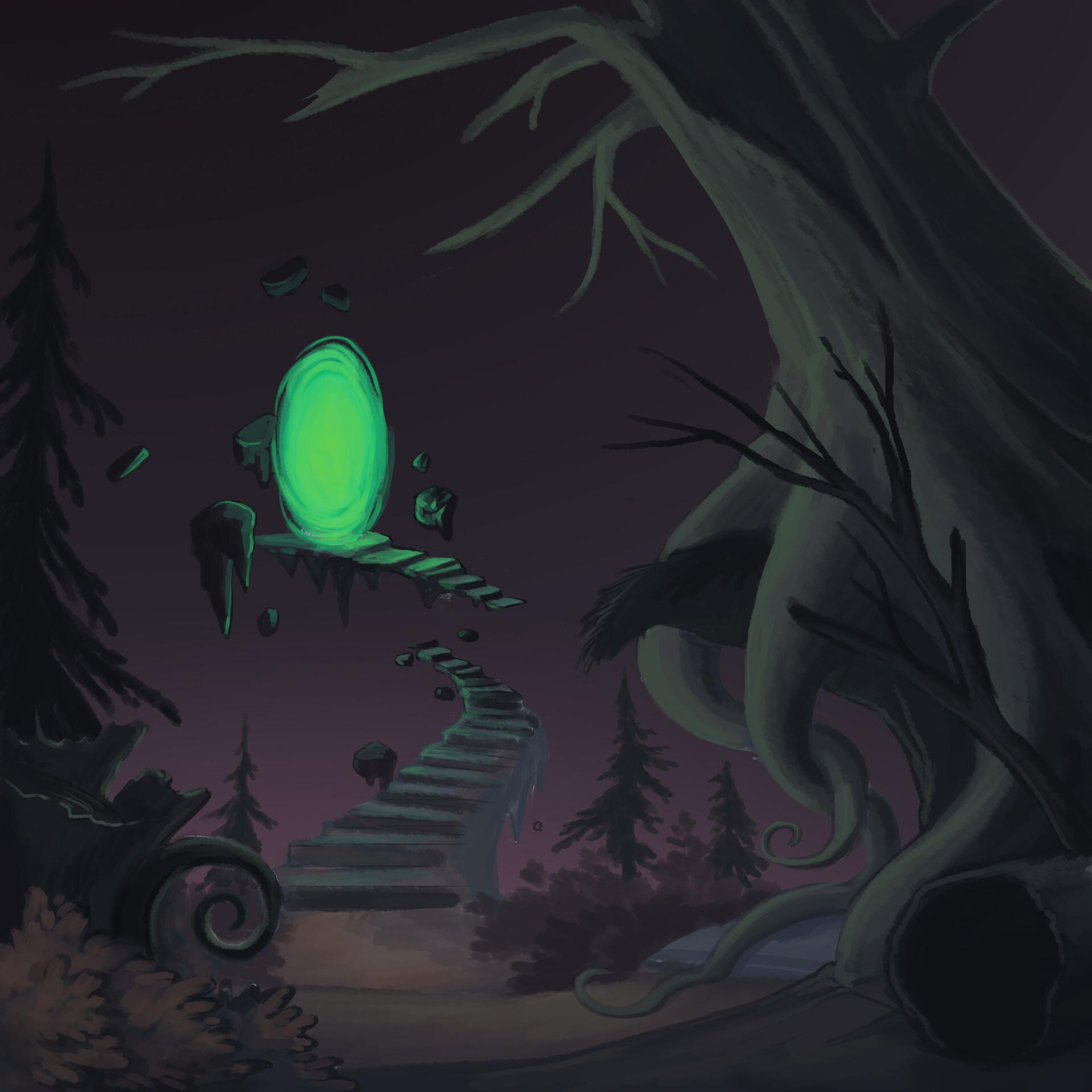 Meagen ruttan hauntedforestportal 003