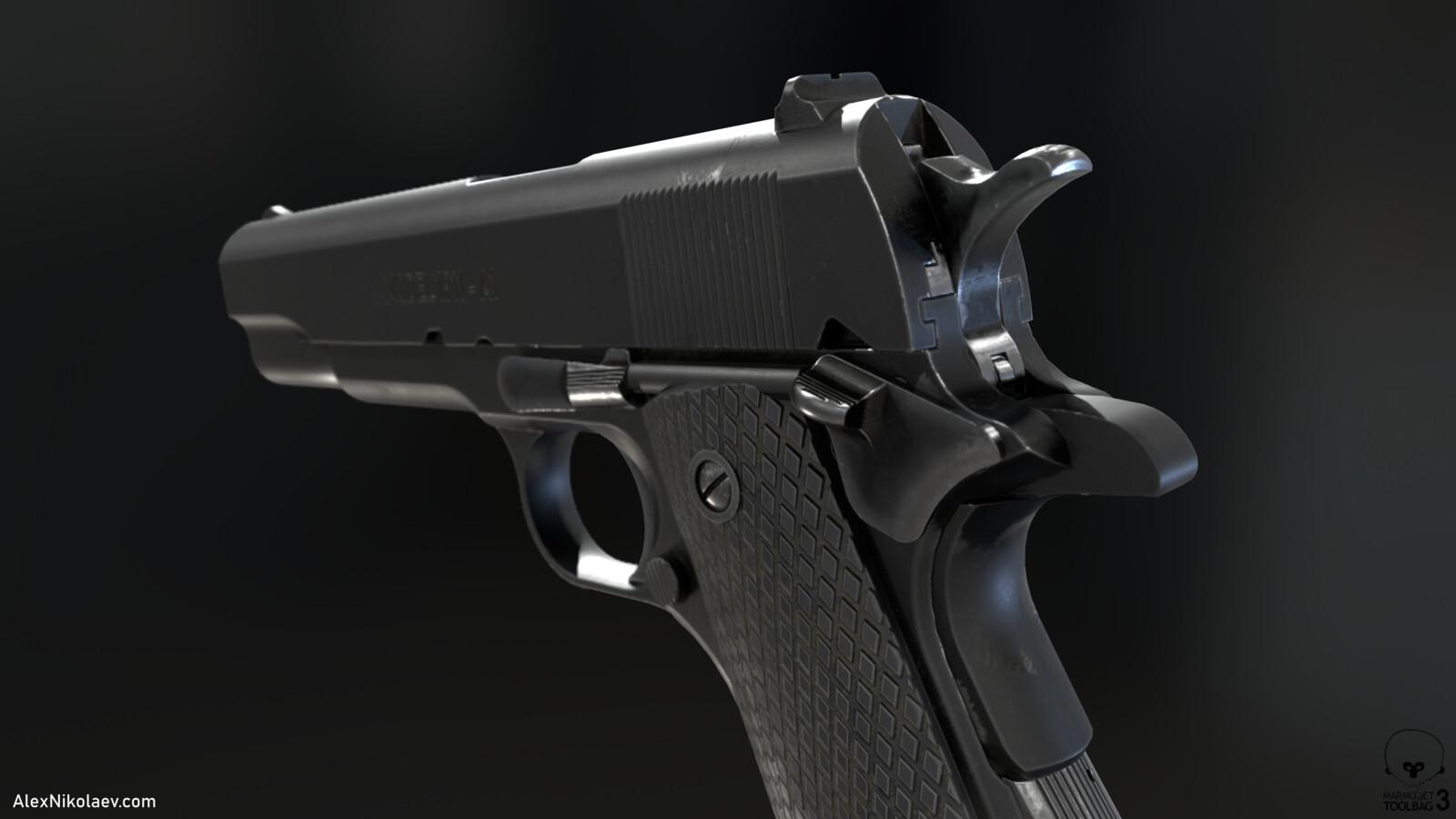 Colt 1911 - Gun Study