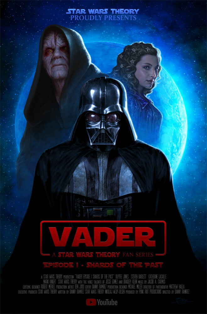 Artstation Vader Fan Film Shards Of The Past Ben Judd