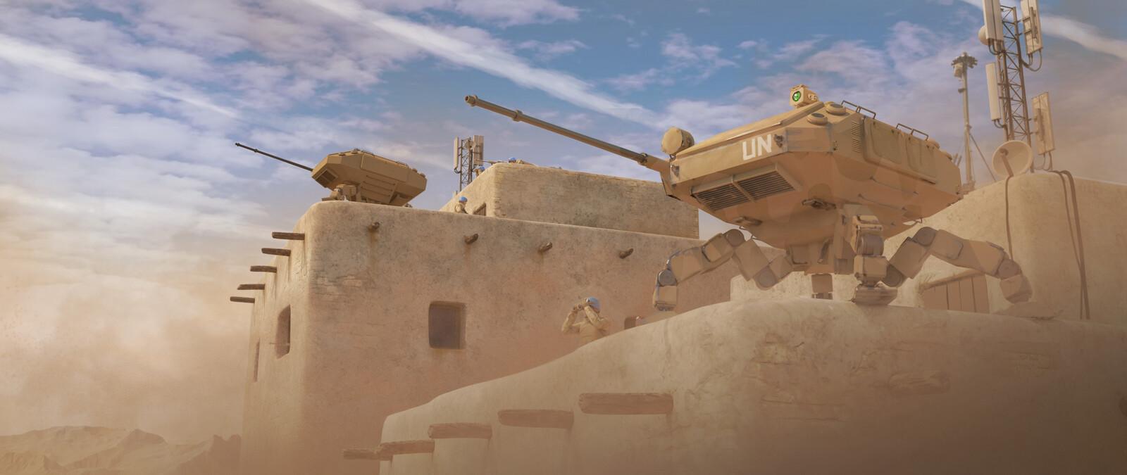 UN Scout Tank