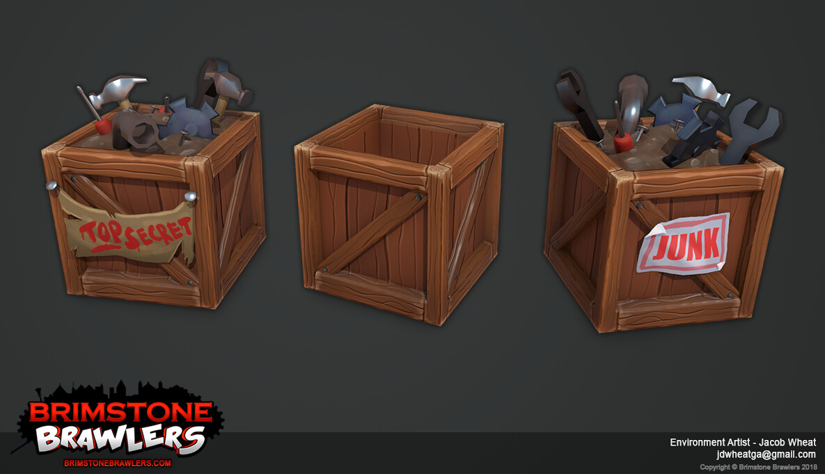 Jacob wheat brimstone brawlers junkcrates