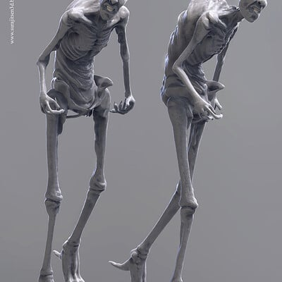 Surajit sen dewfoot creature pose sculpt surajitsen jan2019 v1