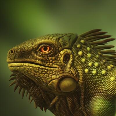 Matthew akin 3d iguana octane 04